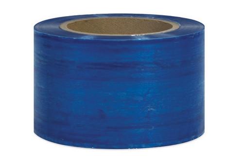 """3"""" Blue Stretch Wrap Bundling Plastic Film"""
