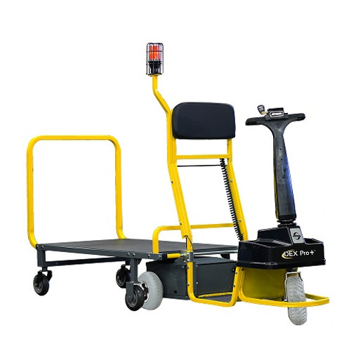 The Dex Pro+ is an ideal solution for moving products.