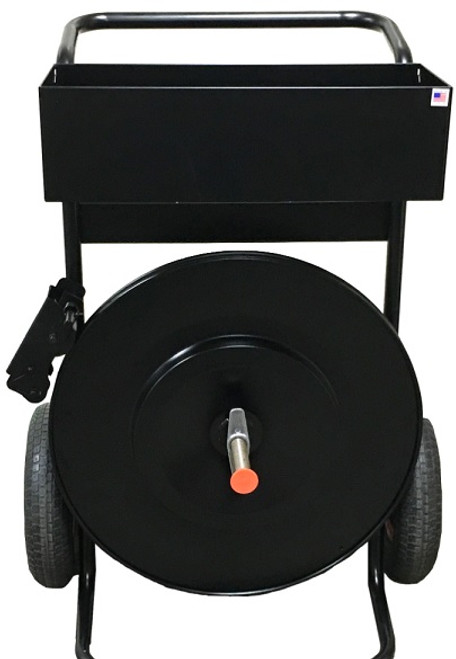 This Monster Cart is Specifically for use with Poly Strapping.
