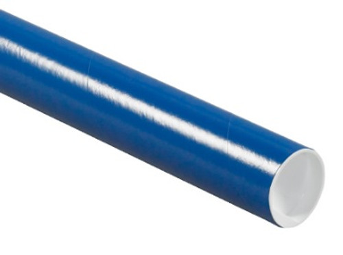 Blue Mailing Tube, Blue Shipping Tube with Caps