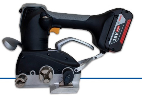 """Automatic Battery Powered Cord Strap Tensioner with Cutter 3/4"""" - 1 1/4"""""""