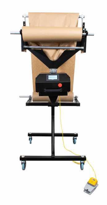 A/C Power Feed Fully Automated Kraft Paper Cutting Crumpler Void Fill Dispensing System