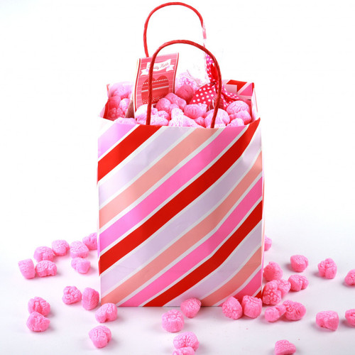 Plant Based Certified Compostable Pink Heart Packing Peanuts