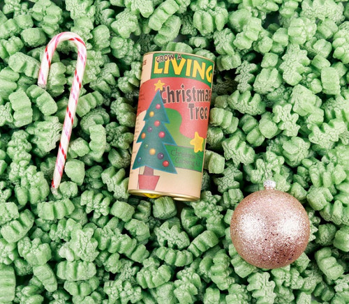 Excellent Cushioning and Superior Shock Absorption Green Christmas Tree ShapesPacking Peanuts