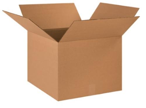 "18"" x 18"" x 14"" Brown Corrugated Cardboard Shipping Box Build-A-Bundle™"