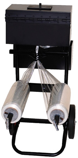 Converts Pre-Stretch Film into Stretch Strapping that is used for Securing Pallet Loads