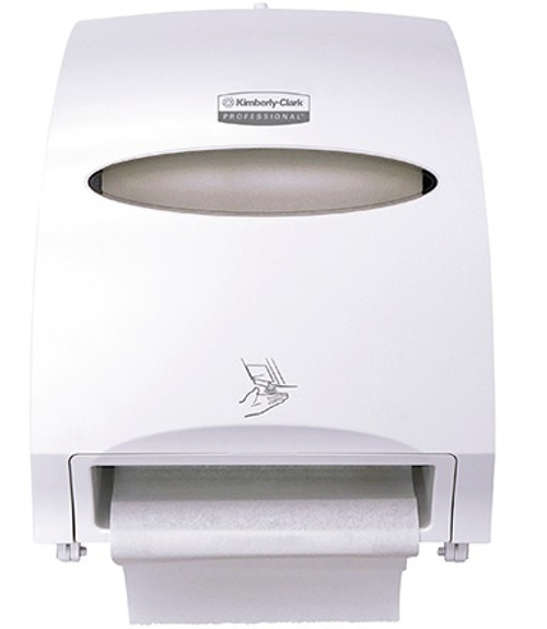 Kimberly-Clark® Automatic Wall Mount Paper Towel Roll Dispenser - White