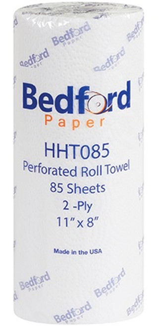 """11"""" x 8"""" Bedford 2-Ply Perforated Paper Towels"""
