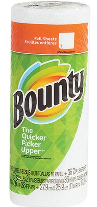"""11"""" x 10 1/5"""" Bounty® 2-Ply Perforated Paper Towels"""