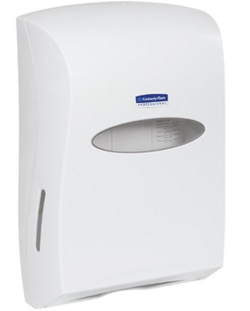 Kimberly-Clark® Wall Mount C-Fold/Multi-Fold Hand Paper Towel Dispenser - White