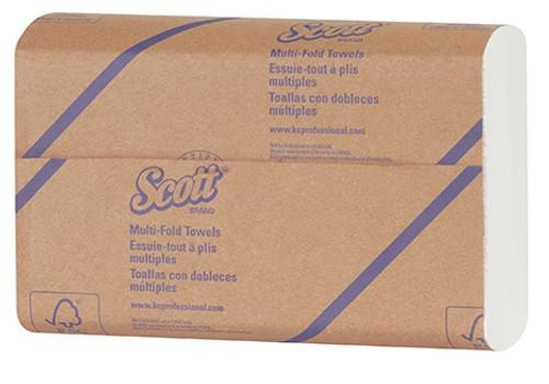 "9.20"" x 9.40"" Scott® Surpass® White Multi-Fold Paper Towels"