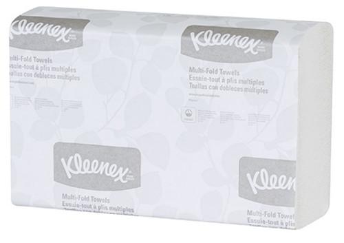 "9.20"" x 9.40"" Kleenex® White Multi-Fold Paper Towels"