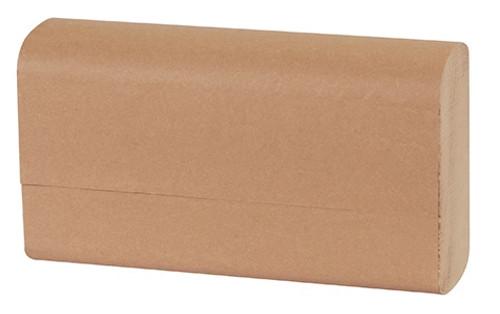 "9.45"" x 9.00"" Simple Earth Kraft Single-Fold Paper Towels"