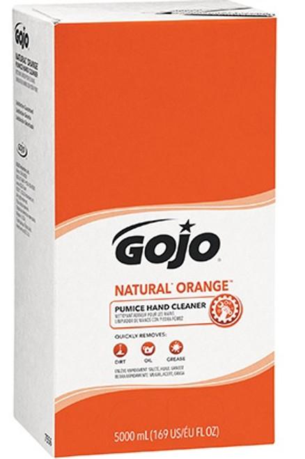GOJO® Natural* Orange™ Pumice Hand Cleaner Refill Box 5,000 mL