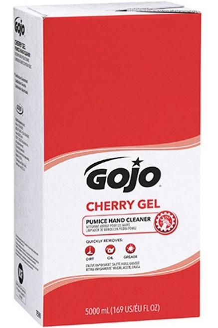 GOJO® Cherry Gel Pumice Hand Cleaner Refill Box 5,000 mL