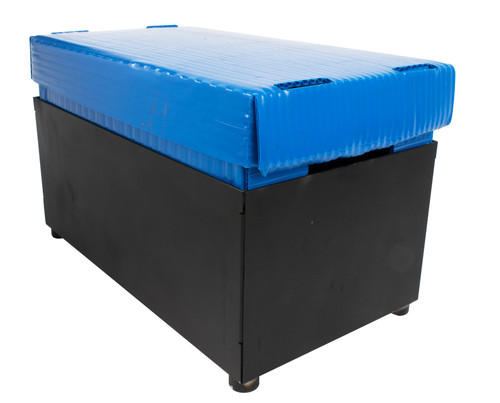 Magnetic Mountable Large Steel Storage Box for Warehouse Forklift Truck