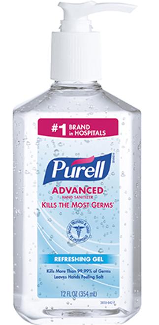 PURELL® Gel Hand Sanitizers 8 oz. Pump Bottle
