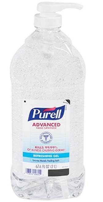 PURELL® Gel Hand Sanitizers 68 oz. Pump Bottle