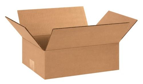 "12"" x 9"" x 4"" Brown Corrugated Cardboard Shipping Box Build-A-Bundle™"