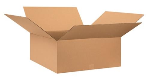 "28"" x 28"" x 12"" Brown Corrugated Cardboard Shipping Box Build-A-Bundle™"