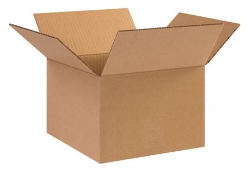 "10"" x 10"" x 7"" Brown Corrugated Cardboard Shipping Box Build-A-Bundle™"