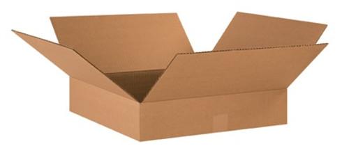 "18"" x 18"" x 4"" Brown Corrugated Cardboard Shipping Box Build-A-Bundle™"