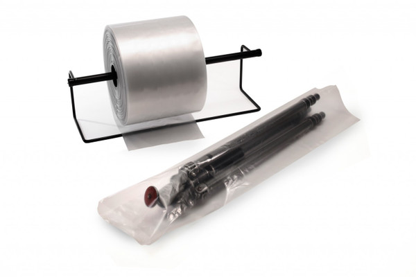 """1"""" Clear Poly Tubing 4 mil 750' / Roll"""