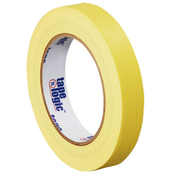 "3/4"" Yellow Colored Masking Tape - Tape Logic™"