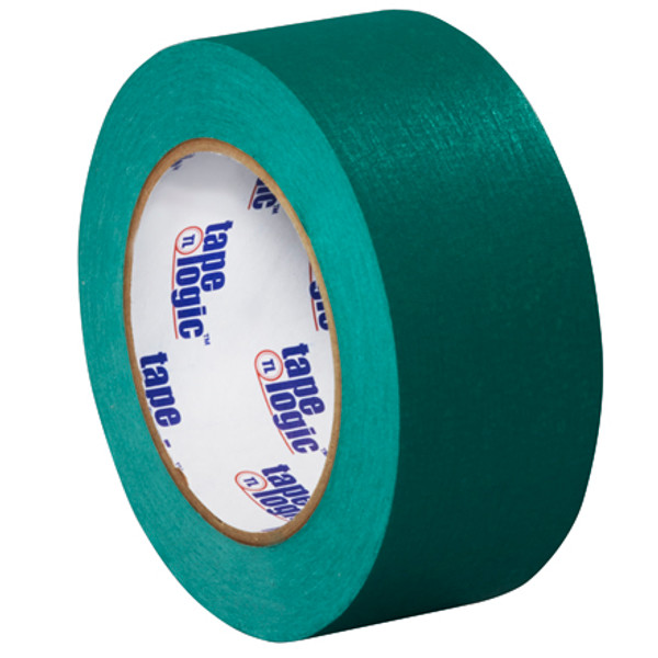 "2"" Dark Green Colored Masking Tape - Tape Logic™"