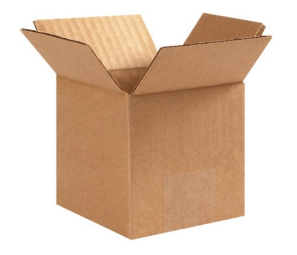 "3"" x 3"" x 3"" (200#/ECT-32) Kraft Corrugated Cardboard Shipping Boxes"