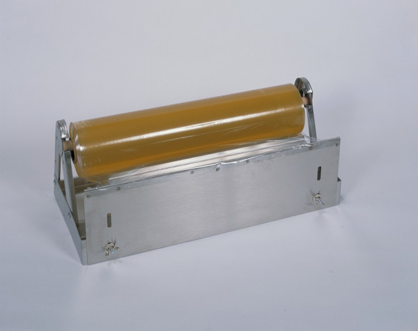 Stainless Steel Plastic Wrap Food Service Dispenser with Serrated Blade