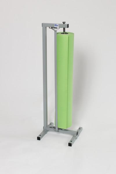 Single Roll Vertical Kraft Paper Cutter Dispenser