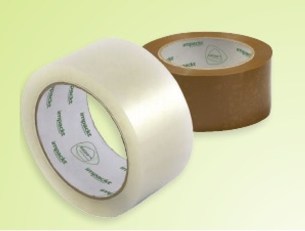 Clear Hot Melt Carton Sealing Tape works with boxes that have high levels of recycled content