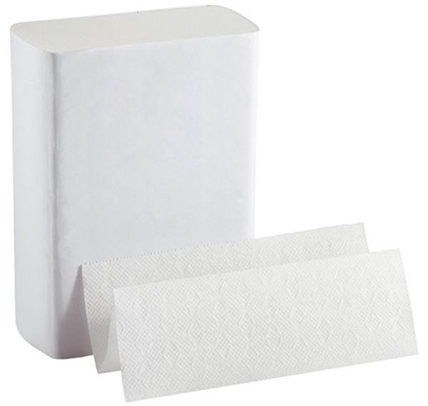 "10.00"" x 11.00"" BigFold Z® White Multi-Fold Paper Towels"