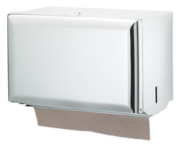 Wall Mount Single-Fold Paper Towel Dispenser - White