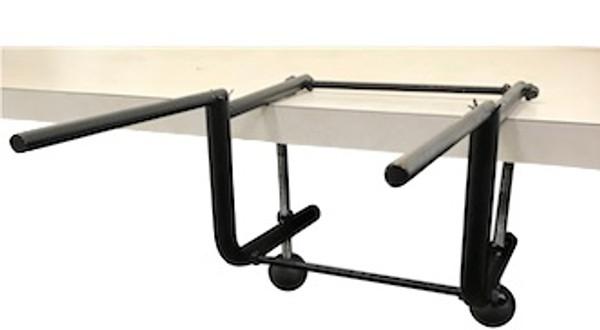 Table Mountable Box Bundling Wrapping Station