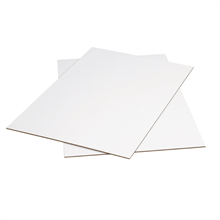Kraft 40 x 48 Pack of 5 BOX USA BSP4048DW Double Wall Corrugated Sheets