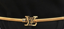 LV Gold Belt