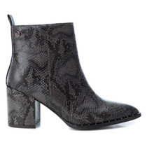 Ladies Snake Ankle Boots 35155