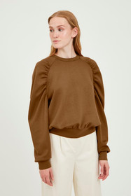 BYPUSTI SWEAT PULLOVER (Toffee)
