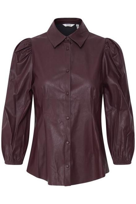 Byesoni Leather Shirt