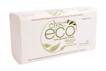 Eco Range Multi-fold Hand Towel 23 cm x 23 cam 20 packs x 200 sheets 4000 sheets per carton