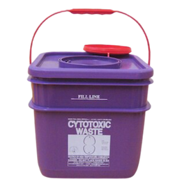 P-RE10LCT is a very strong and robust container for Cytotoxic waste.