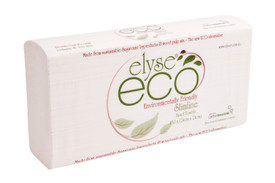 Eco Range Ultraslim Hand Towel 24 cm x 24 cm 16 packs x 150 sheets 2400 sheets per carton