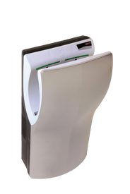 MEDICLINICS DUAL FLOW HAND DRYER - SATIN ABS