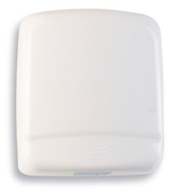 MEDICLINICS OPTIMA HAND DRYER-WHITE STEEL