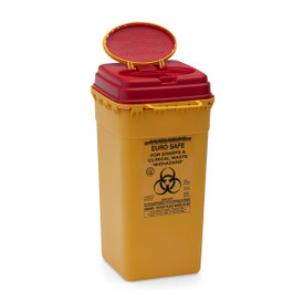 MEDICAL WASTE / SHARPS CONTAINERS: EURO Safe - 6 litre