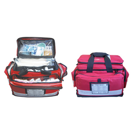 Description: High Risk First AID Kit Portable Bag General Description: High Risk first aid kits ensure you have the right first aid supplies to manage serious accidents like burns, contamination, bleeding and eye trauma. The shoulder bag design is perfect for comfort and delivery.