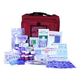 Description: Standard Workplace First Aid Kit Medium (1-25 People) in Portable Bag. Used for additional modules. Meets the prescribed regulation of NSW, S.A, N.T, A.C.T , TAS. General Description: Ideal for placing additional modules. Compliant and comprehensive Workplace First Aid Kit that contains all the necessary items to address common workplace injuries. Meets the prescribed regulations or Codes of Practice of different states (NSW, S.A, N.T, A.C.T , TAS). Suitable for 1-25 employees in a workplace