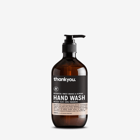 HAND WASH - ORANGE & ALMOND 500ML NO SLS, SLES, EDTA, PARABENS
